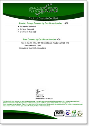 Dale and Meyers Operations EWPAA Chain of Custody Certificate page 2