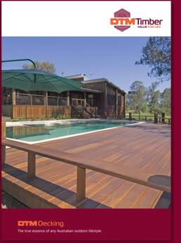Front cover image of Decking Brochure
